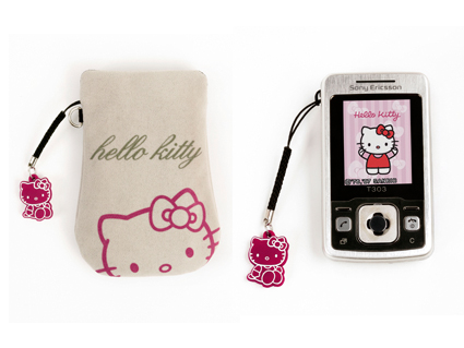 Sony Ericsson T303 Hello Kitty