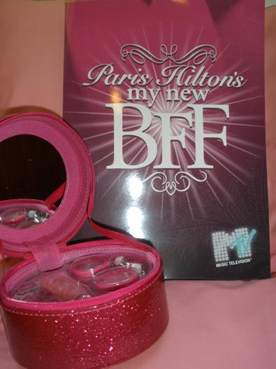 Joyero/necesaire y nota de prensa de Paris Hilton Best Friend