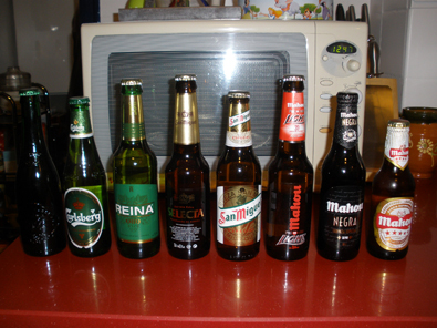 Ocho cervezas diferentes, del Grupo Mahou-San Miguel