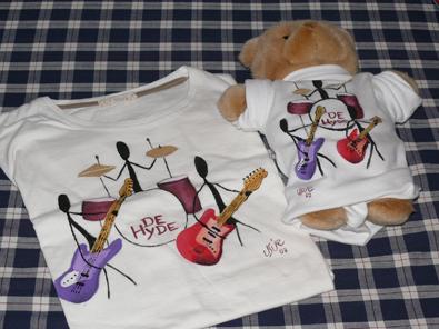 Camisetas pintadas a mano por Usúe Madinaveitia