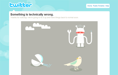 Twitter: Something is technically wrong