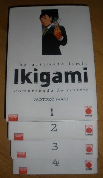 Ikigami. Comunicado de muerte, de Motoro Mase