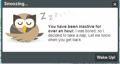 HootSuite snoozing...