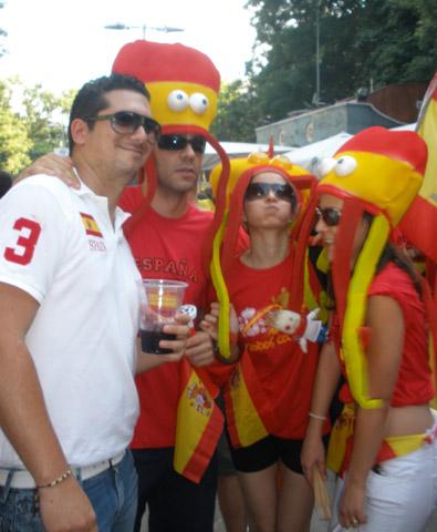 El Pulpo Paul predice la victoria de España en el Mundial 2010