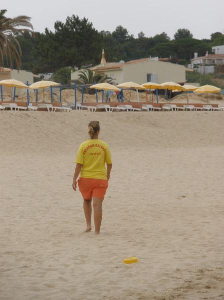 Nadador salvador (=vigilante de la playa; socorrista)