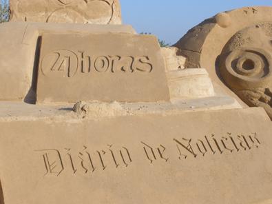FIESA: Festival de esculturas de arena. Patrocinadores