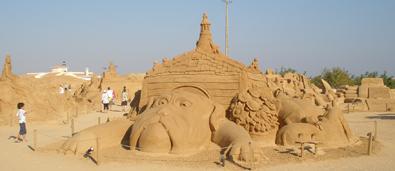 Festival de Esculturas de Arena en Algarve
