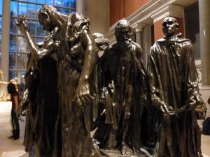 Los esclavos de Calais de Rodin en el Met de Nueva York