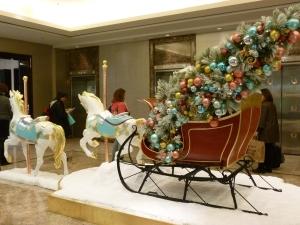 Tiffany en Navidad