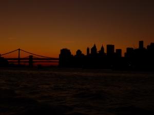 Skyline de Manhattan desde el barco
