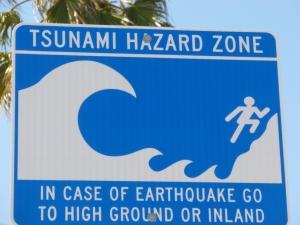 Peligro de Tsunami en Santa Mónica