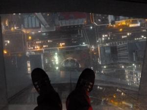 Vértigo en la Sky Tower, Auckland